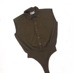 Vintage Thong Body suit